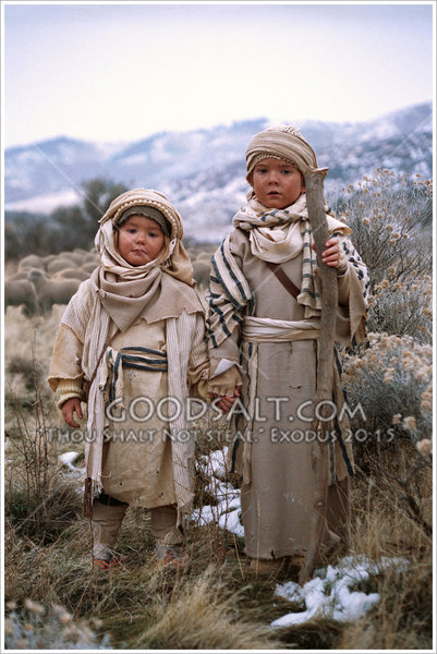little kids holding hands pictures. Two Small Bedouin Children
