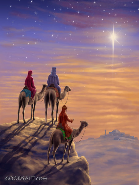 Three Wise Men H Christian Wall Art